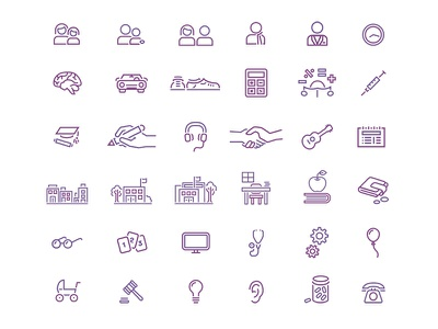 Illustrations for Understood.org illustration icons graphics