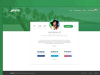 Pinme - Unlocked Profile Page