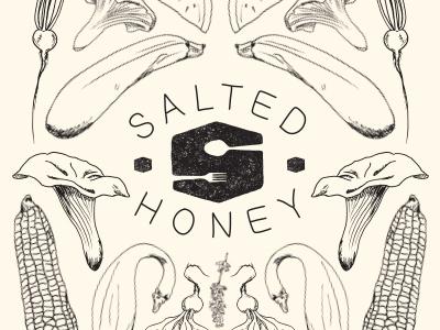 Salted Honey Feast no. 1 Poster Illustration