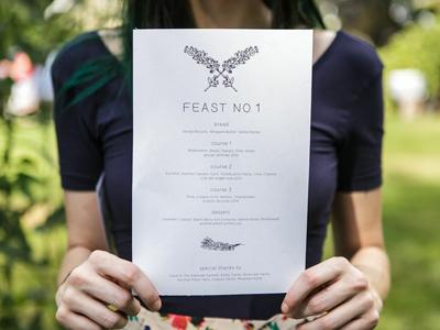 Feast no.1 Menu Back