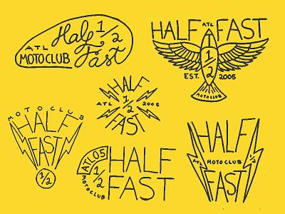 Rough Logos typography type thumbnail rough brand branding vintage motorcycle moto mark sharpie logo