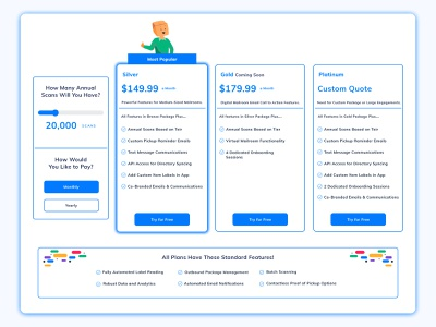 Pricing Table pricing plan pricing table ui user interface webdesign website