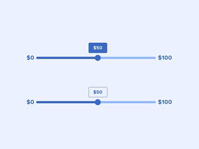 Price Sliders minimal slider design slider components ui