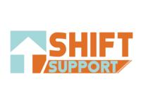Shift support logo design entry