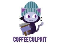 Coffee Culprit Logo Design Entry