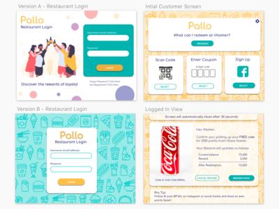 Pallo - Restaurant Ipad App