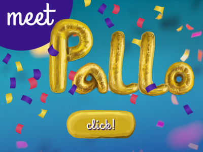 Meet Pallo - Balloon Letter Experiment