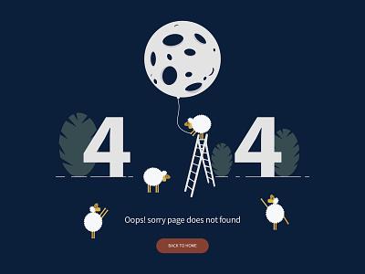 Error 404 web ux ui vector design illustration error 404