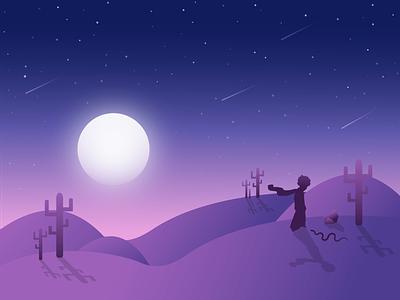 The Little Prince vector snake earth stars night the little prince illustration digital illustration digital art