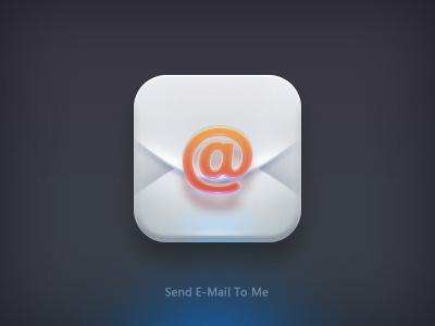 E-mail ps icon ui