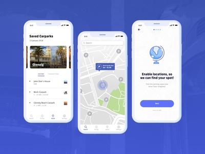 Carpark Cure Mobile App
