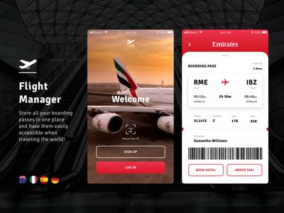 Flight Manager Mobile App