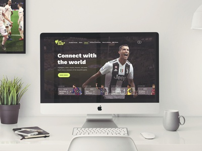 The World Game Website Concept