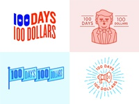 100 Days 100 Dollars (Concepts)