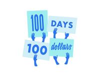 100 Days 100 Dollars
