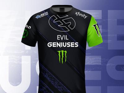Evil Geniuses 2020 jersey design concept #2