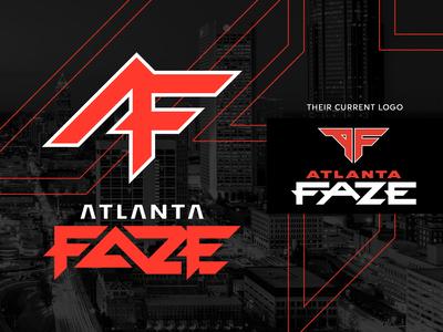 ATLANTA FAZE logo concept