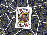 DaOrtiz Playing Cards -Queen