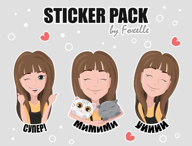 My own sticker pack for Whatsapp, Telegram or Viber