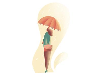 Working on raining days character design character digital art digital drawing illustration art director design illustration