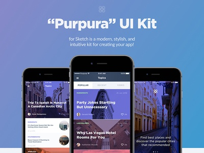 Purpura UI Kit