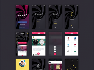 Beaute Kit kit download buy mobile design pay payment activity reader stripe marketing ios