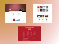 Sribu.com Redesign Challenges illustrations redesign minimal flat design branding landing page ui ui design website design web design website web
