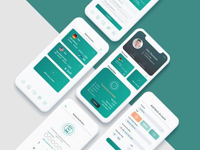 Wallet Application wallet uidesign fintech banking money transfer finance app finance