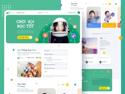Education platform educational nongovernment  website blog design colorful platform design kids illustration education website homepage design minimal website web illustration ux ui flat design