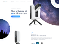 Telescope product homepage section