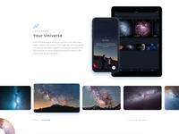 Telescope Homepage Photo Section