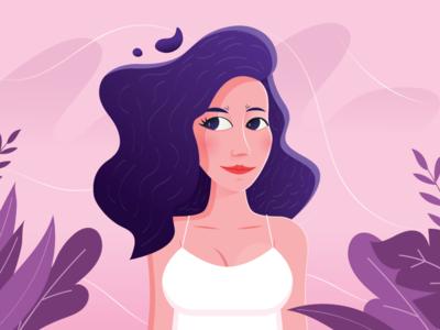 Girlfriend Illustration
