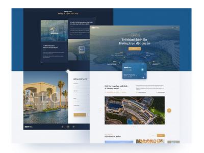 FLC Hotels & Resorts Landing page