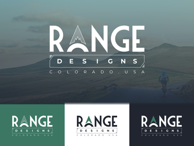 Logo design for mountain biking backpack design brand
