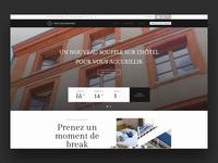 Croix Baragnon Hotel's website