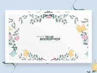 The Book Shop website
