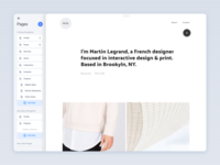 Arkitekt.io Dashboard Concept – Pages
