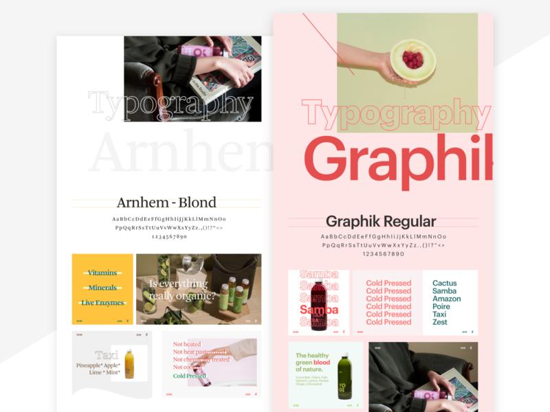 """Dose""  Branding & Typography"