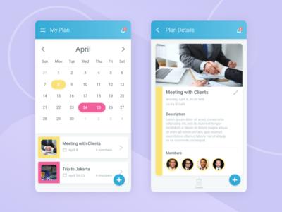 Calendar Plan Apps