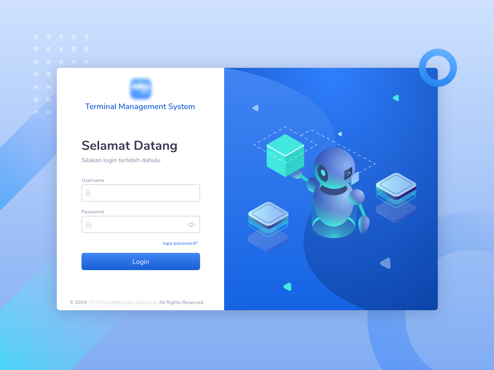 Login Page Example by Anan Mukmin on Dribbble