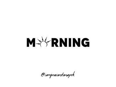 Morning Logo Design Concept illustration art vector adobe logo branding illustrator illustration logo design creative  design adobe illustrator