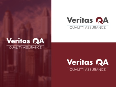 Veritas QA Logo concept logocombo wordmark logotip logodose logobook logofolio logocreation creative design creative logo logo logoideas logoinspiration logotype logodesign adobe