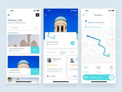 Exploration The Mosque app