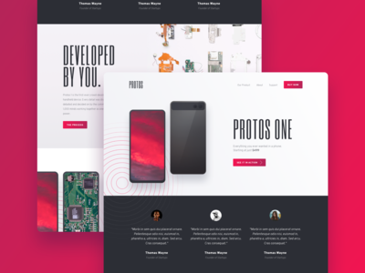 Tech Product - Landing Page