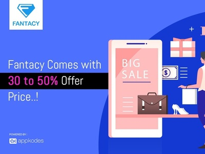 Online Store Script -Fantacy Comes with 30 to 50% Offer Price