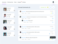 Comments Tracker- UI