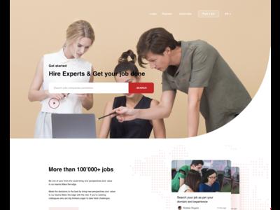 Job Portal-Landing Page