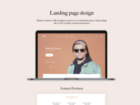 Brittee-Landing page