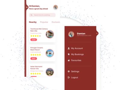 Sidebar UI Design