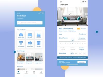 Rentingo-Online Rent Furniture
